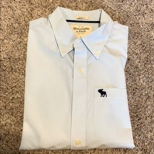 Abercrombie & Fitch Long Sleeve Button Up Shirt